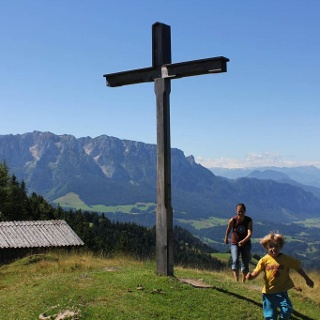 Karspitze Gipfelkreuz