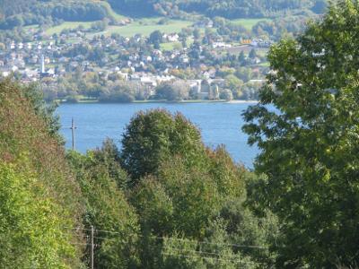 Blick vom Hegibühl nach Steckborm