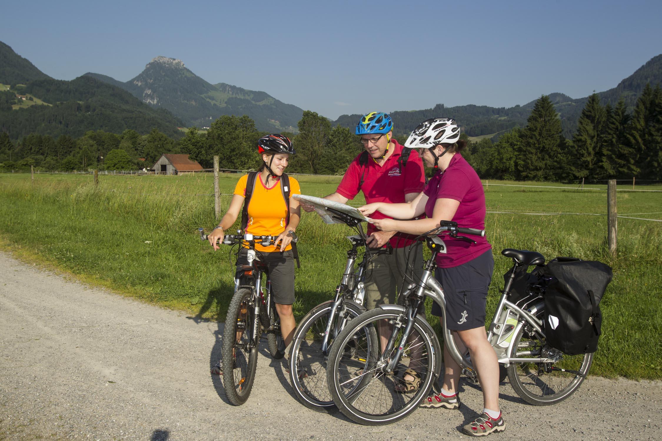 Mountainbiketour rund um den Tatzelwurm