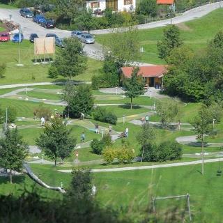 Spielgolf im Kurpark Rosshaupten