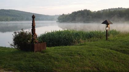 A Kustánszegi-tó hajnalban