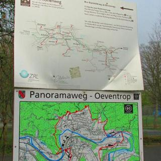 Infotafel am Bahnhof Oeventrop