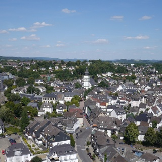 Blick auf die Altstadt Attendorns