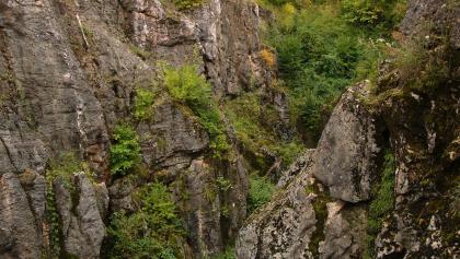 Pra-kras na vrchu Csárdahegy, v obci Úrkút