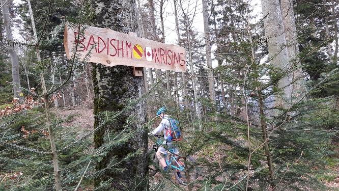 MTB-Trail-Tour zum Schauinsland - Badish Moon Rising - Kybfelsen - Canadian Trail - Freiburg
