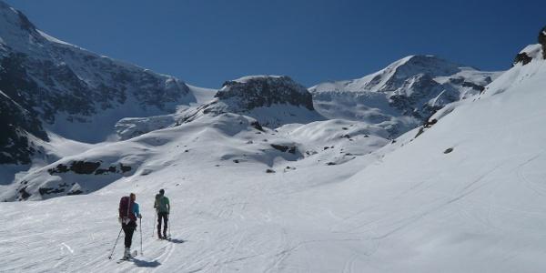 Flach Richtung Gletscher