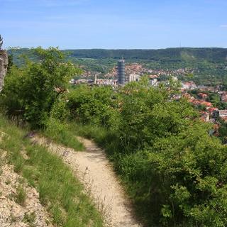 Blick auf Jena von den Sonnenbergen