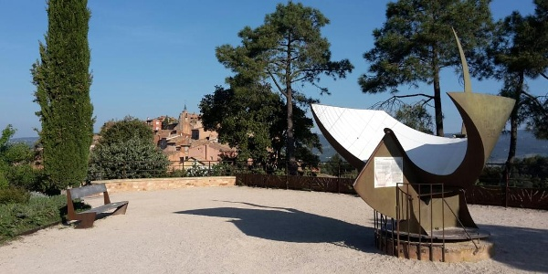 Start point in Roussillon