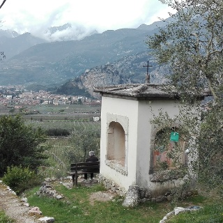 Wayside shrine near Bolognano
