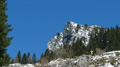 Vorderkaiserfeldenhütte fast erreicht - April 2016