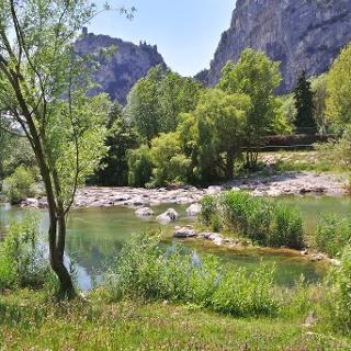 Fiume Sarca, Località Moleta (Arco)