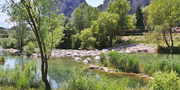 The river Sarca (at Moleta, Arco)