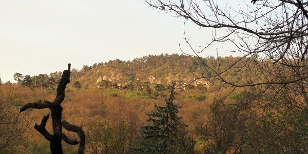 Rálátás a Kecske-hegyre
