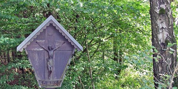 Wegkreuz beim Naturfreundehaus Wernersreuth