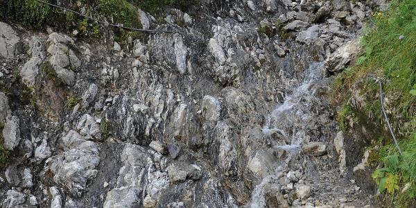 Mergel- und Kalksteine der Allgäu-Formation