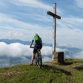 Mountainbiken auf der Salmaser Höhe