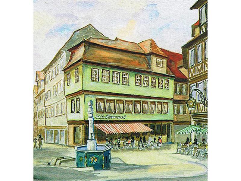 Conditorei Cafe Hammel am Milchmarkt in Schwäbisch Hall  - @ Autor: Beate Philipp  - © Quelle: Cafe Hammel