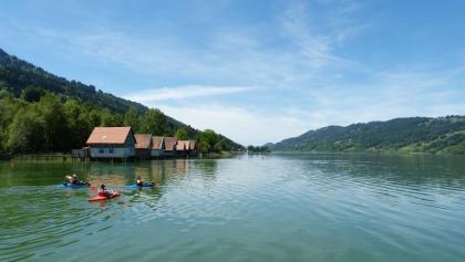 Fischerhäuser am Großen Alpsee