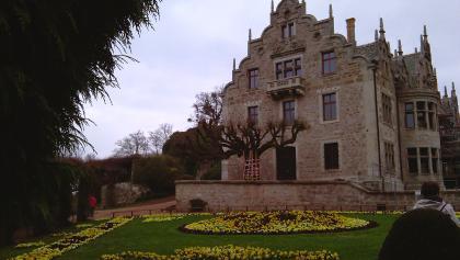Schloss Altenstein mit Rundbeet