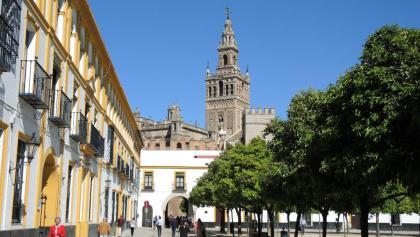 Giralda - Glockenturm der Kathedrale von Sevilla