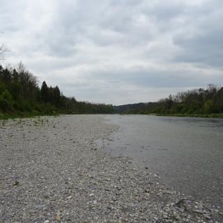 3400 Neue Flussuferbank zum x-ten Male | 47°35'32.2