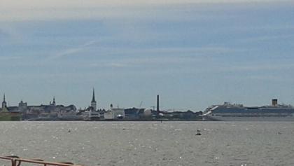 Blick auf Tallinn von Maarjamäe