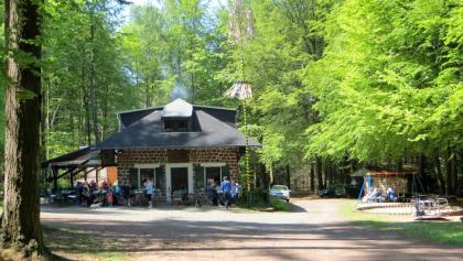 PWV-Hütte mit Einkehrmöglichkeit