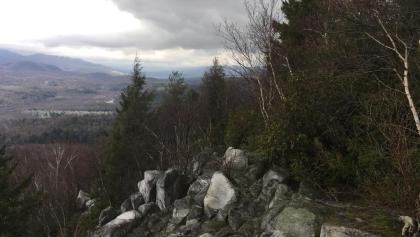Blick vom Wanderweg nach Cheshire