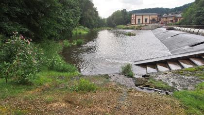 Bootseinsetzstelle am Werrawehr Philippsthal