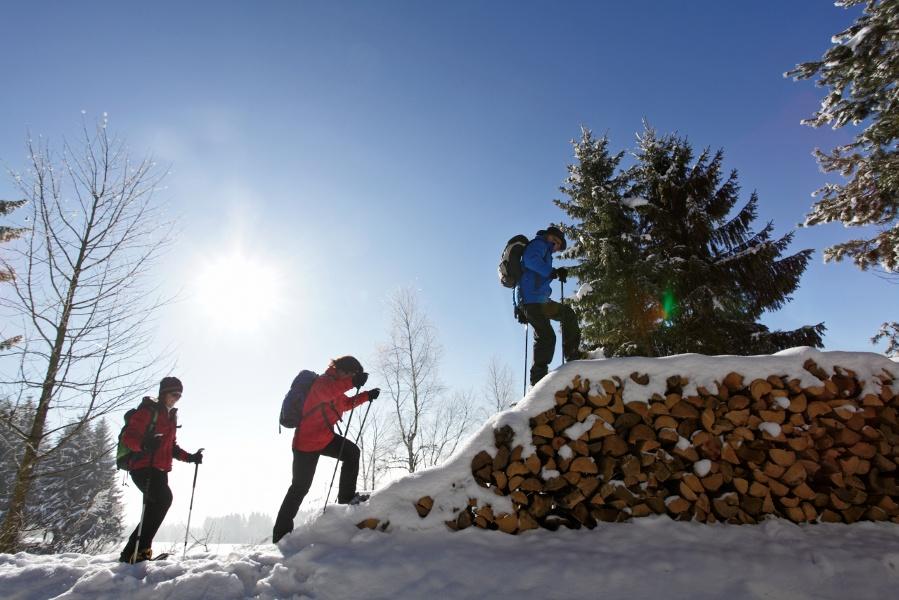 Schneeschuhtrail Präger Böden