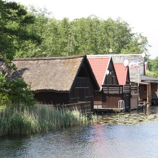 Bootshäuser in Mirow