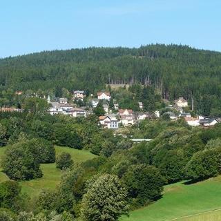 Blick auf Mönichkirchen