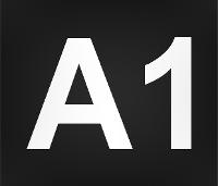 Wegmarkierung A1