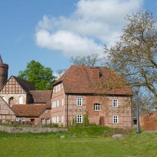 Burganlage Burg Stargard