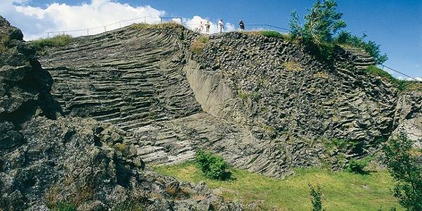 Basaltaufbruch am Hirtstein