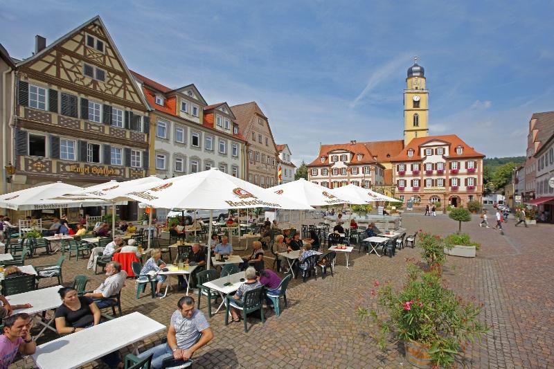 Marktplatz Bad Mergentheim - Das Ziel!