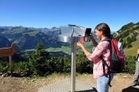 Gamskopf-Panoramainformator © Tourismusverband Tannheimer Tal