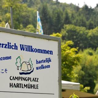 Campingplatz Hartlmühle Ausgangspunkt der Rundwanderung