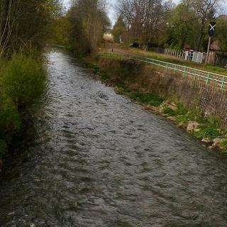 Chemnitz . Fluss