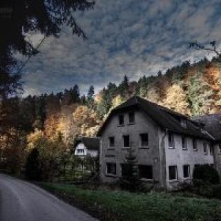 Die Bockmühle im Zeitzgrund