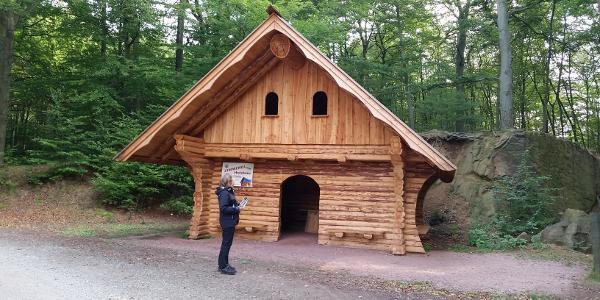 Wanderhütte am Unteren Altenteich