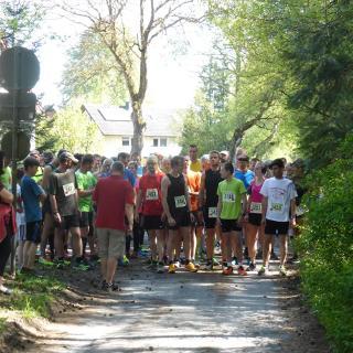 Start am Freibad/Sportplatz in Lage-Hörste