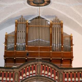 Alfred Schmeisser-Orgel Belgershain