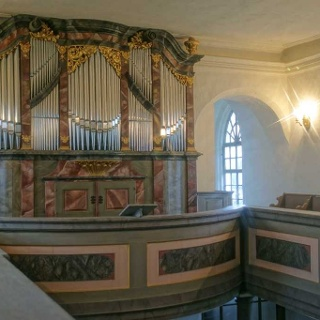 Hildebrandt-Orgel Kreuzkirche Störmthal