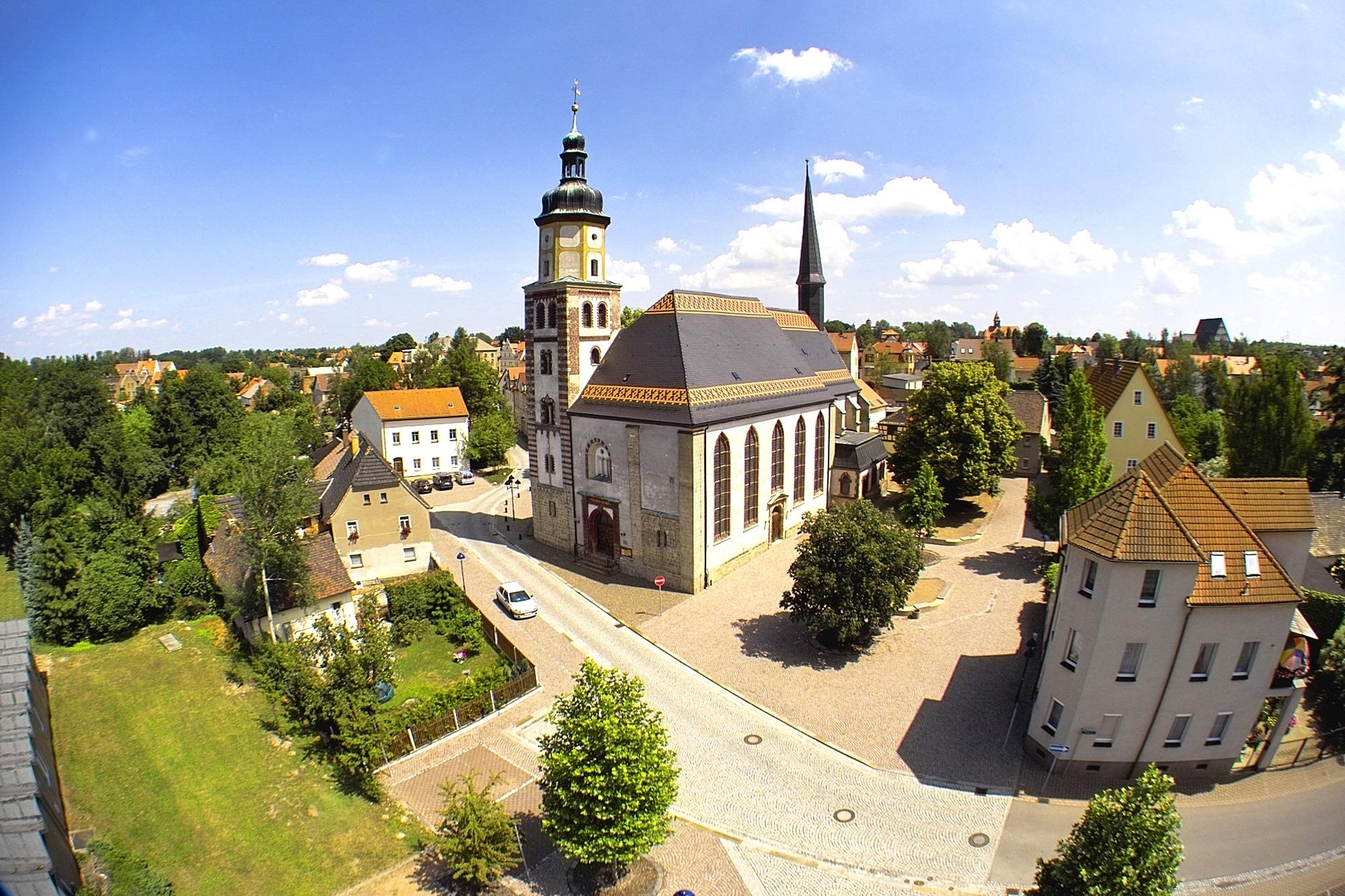 Rötha - Georgenkirche Rötha