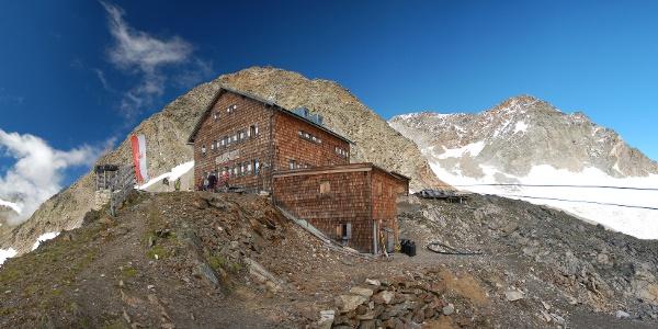 Zwickauer Hütte und Hinterer Seelenkogel