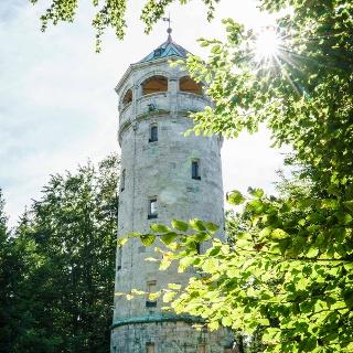 Der Aussichtsturm auf dem Taubenberg