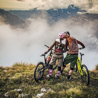Mit dem Mountainbike auf dem Monte Baldo
