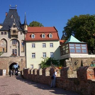 Meißen Torhaus Albrechtsburg