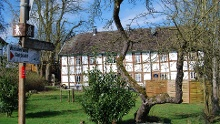 Schloss Auel    40 Jahre GA-Wandertag   1996